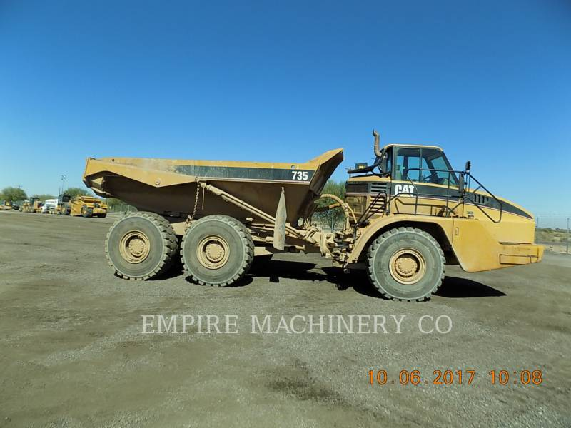 CATERPILLAR MULDENKIPPER 735 equipment  photo 6