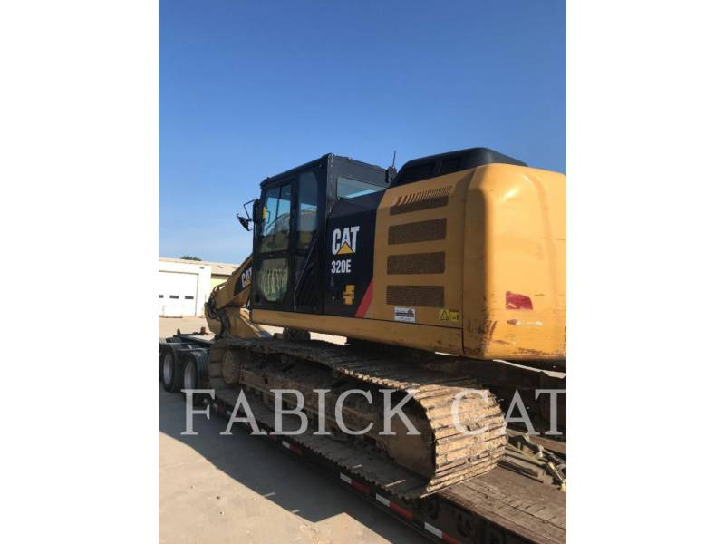 CATERPILLAR TRACK EXCAVATORS 320E HT equipment  photo 3