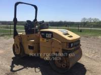 CATERPILLAR VIBRATORY DOUBLE DRUM ASPHALT CB34 equipment  photo 2