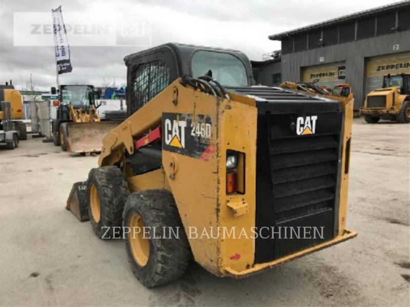 CATERPILLAR SKID STEER LOADERS 246 equipment  photo 3