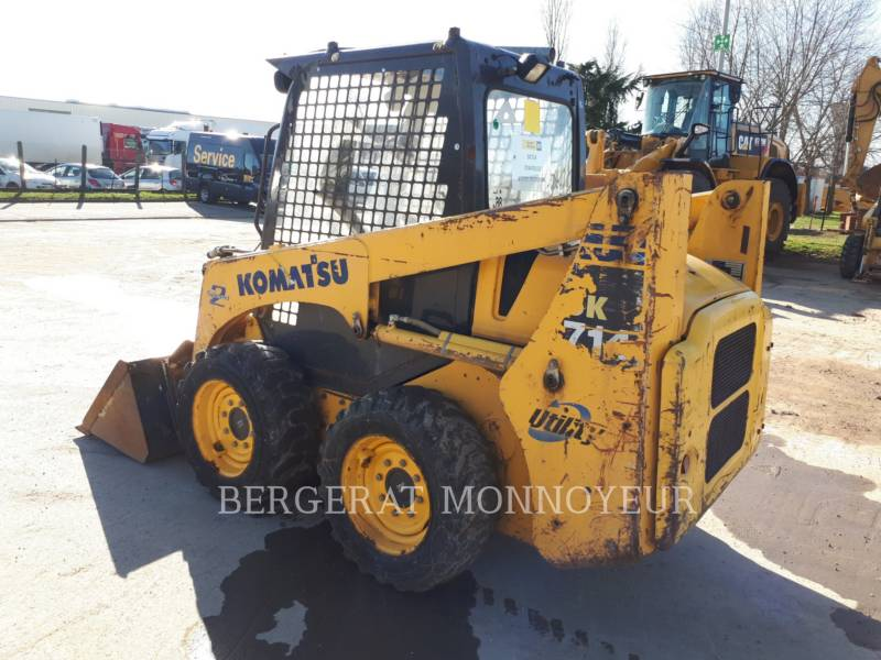 KOMATSU SKID STEER LOADERS SK714 equipment  photo 2