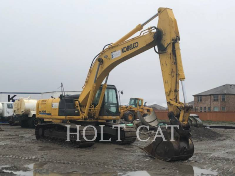 KOBELCO / KOBE STEEL LTD EXCAVADORAS DE CADENAS SK350L equipment  photo 1