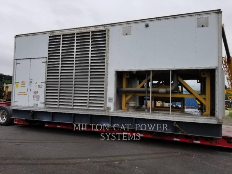 CATERPILLAR 固定式発電装置 D3508-1000 KW equipment  photo 1