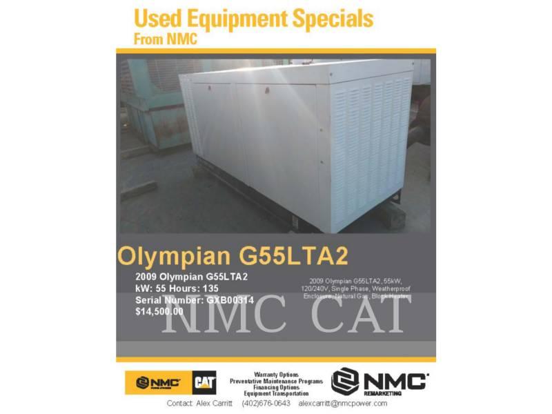 OLYMPIAN_ 固定式発電装置 G55LTA2_OY equipment  photo 5