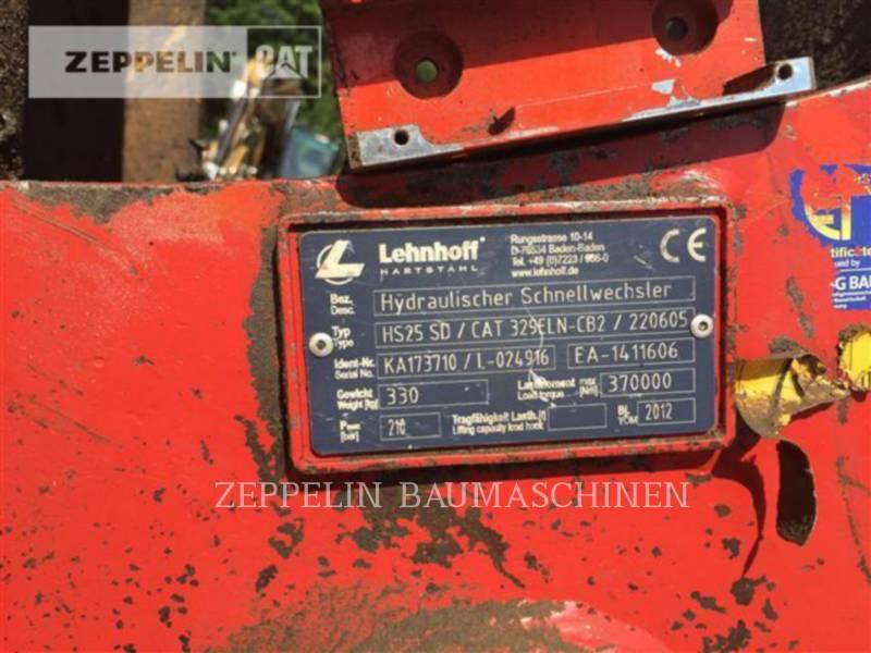 CATERPILLAR KETTEN-HYDRAULIKBAGGER 329ELN equipment  photo 8