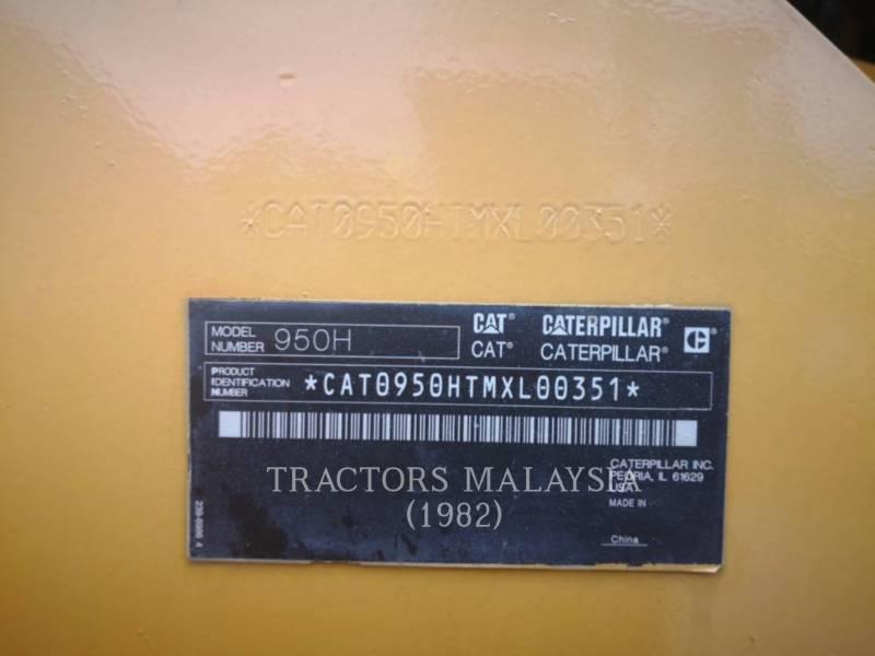 CATERPILLAR RADLADER/INDUSTRIE-RADLADER 950H equipment  photo 8