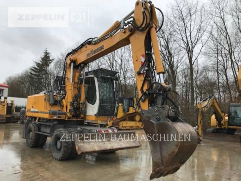 LIEBHERR PELLES SUR PNEUS A914CLIT equipment  photo 6