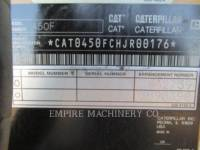 CATERPILLAR CHARGEUSES-PELLETEUSES 450F equipment  photo 10