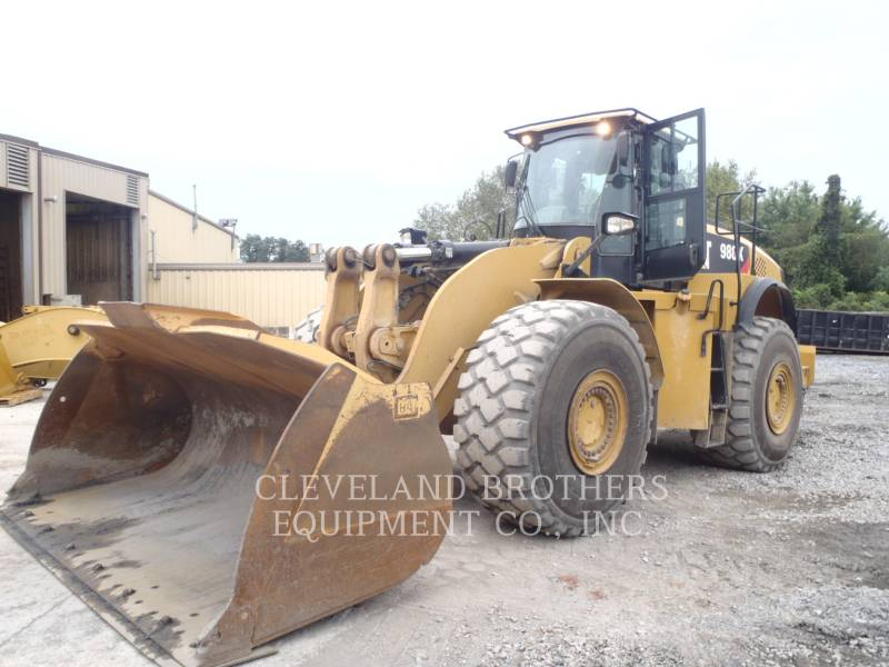 CATERPILLAR PALE GOMMATE/PALE GOMMATE MULTIUSO 980K equipment  photo 2