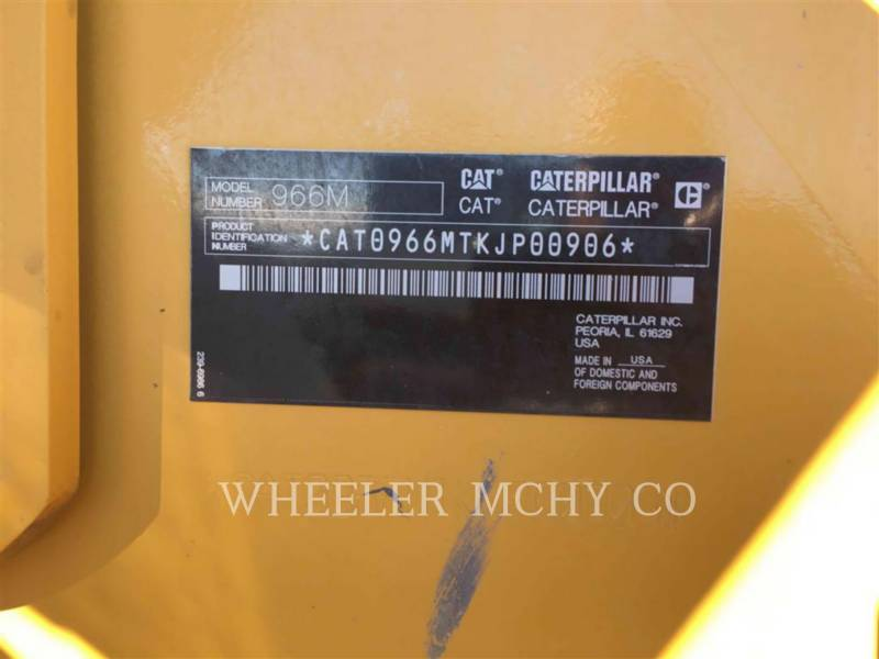 CATERPILLAR WHEEL LOADERS/INTEGRATED TOOLCARRIERS 966M QC equipment  photo 6