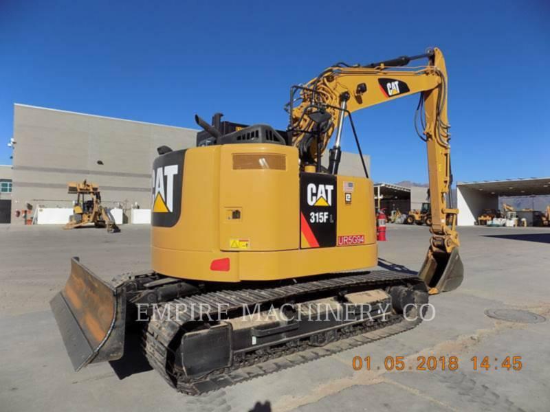 CATERPILLAR PELLES SUR CHAINES 315FL    P equipment  photo 2
