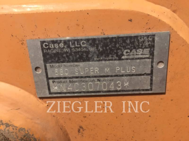 CASE/NEW HOLLAND BACKHOE LOADERS 580SM equipment  photo 8