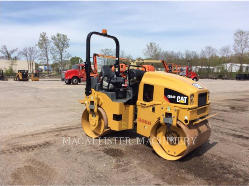 CATERPILLAR COMPACTEURS TANDEMS VIBRANTS CB34B equipment  photo 1
