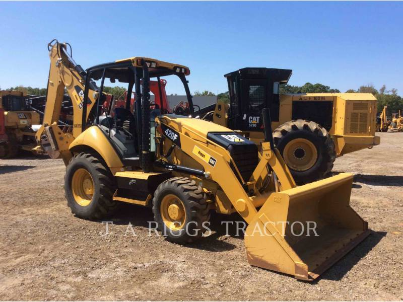 CATERPILLAR BACKHOE LOADERS 420F 4 equipment  photo 8