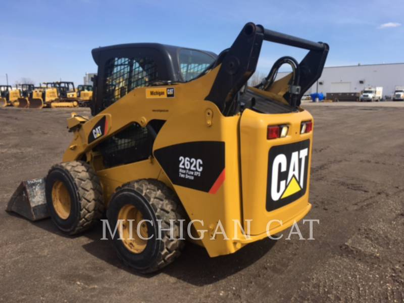 CATERPILLAR MINICARGADORAS 262C equipment  photo 4