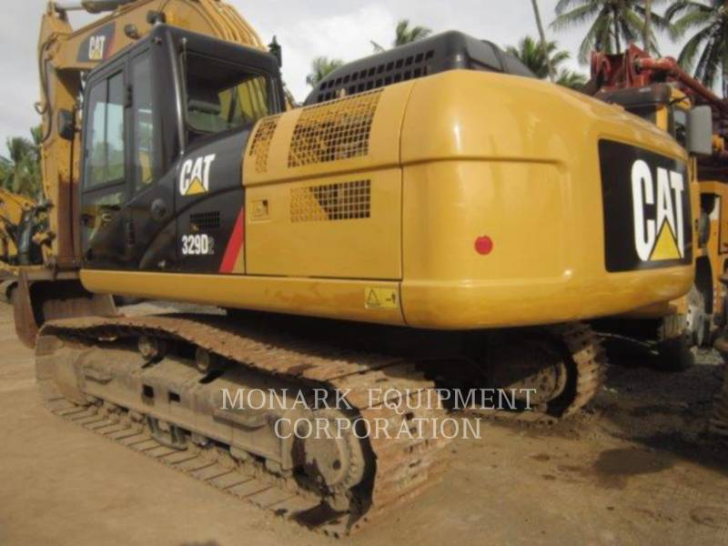 CATERPILLAR TRACK EXCAVATORS 329D2 equipment  photo 5