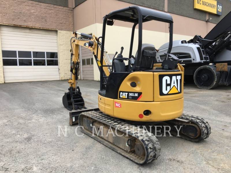 CATERPILLAR EXCAVADORAS DE CADENAS 303.5ECRCN equipment  photo 4