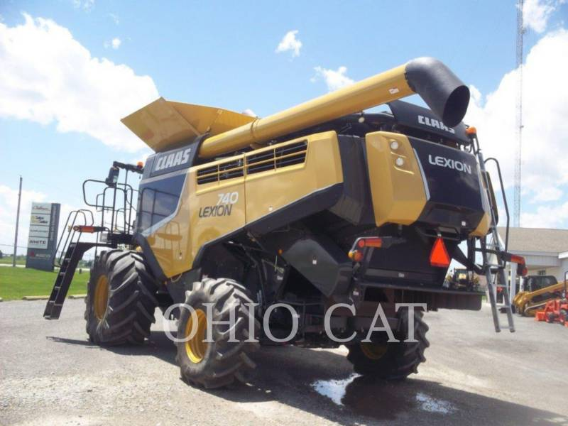 CLAAS OF AMERICA KOMBAJNY LEX740 equipment  photo 9
