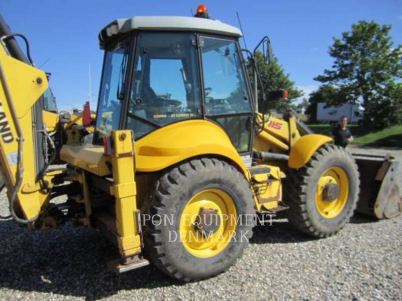 NEW HOLLAND LTD. KOPARKO-ŁADOWARKI B115 4PS equipment  photo 11