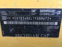 CATERPILLAR PELLES SUR CHAINES 349EL equipment  photo 8