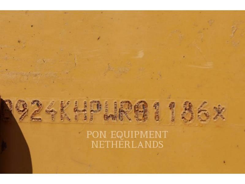 CATERPILLAR BERGBAU-RADLADER 924K equipment  photo 6