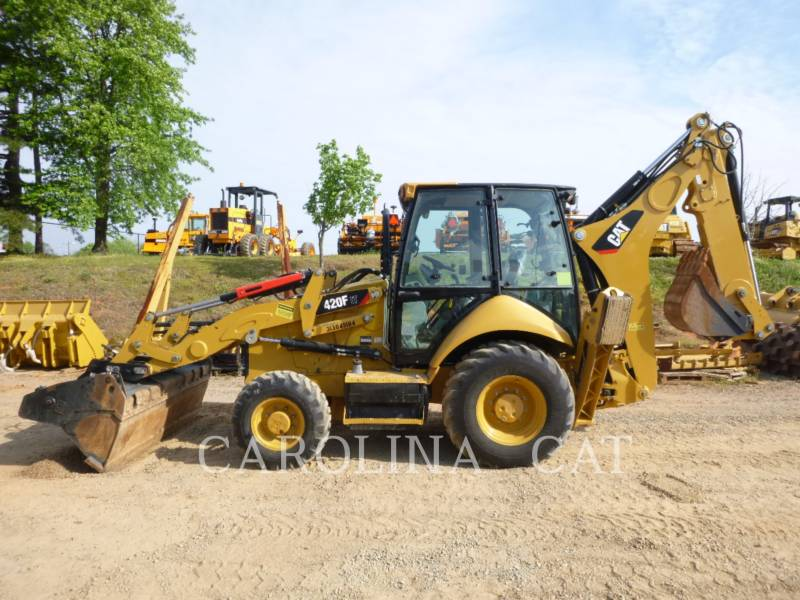 CATERPILLAR CHARGEUSES-PELLETEUSES 420F ITCBE equipment  photo 1