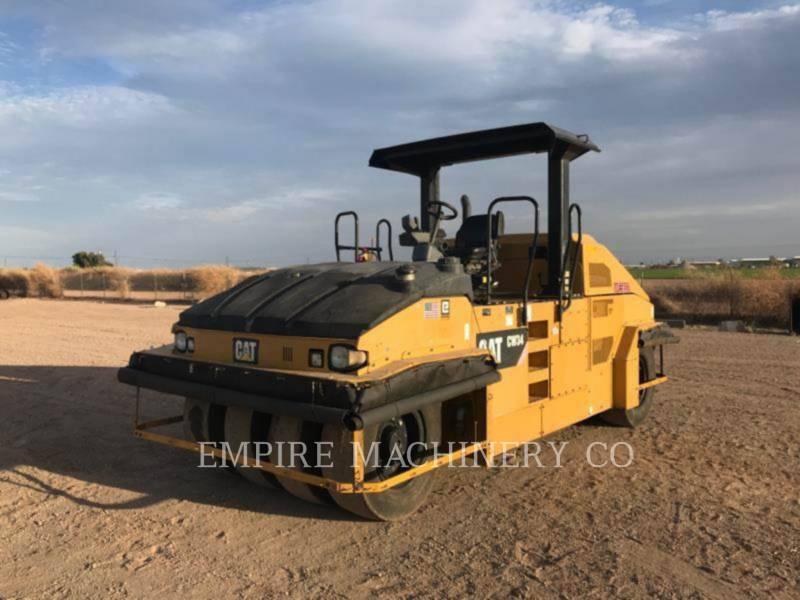 CATERPILLAR 空気式タイヤ・コンパクタ CW34 equipment  photo 1