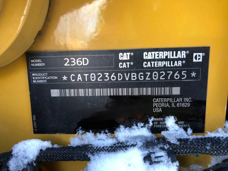 CATERPILLAR SKID STEER LOADERS 236D equipment  photo 24