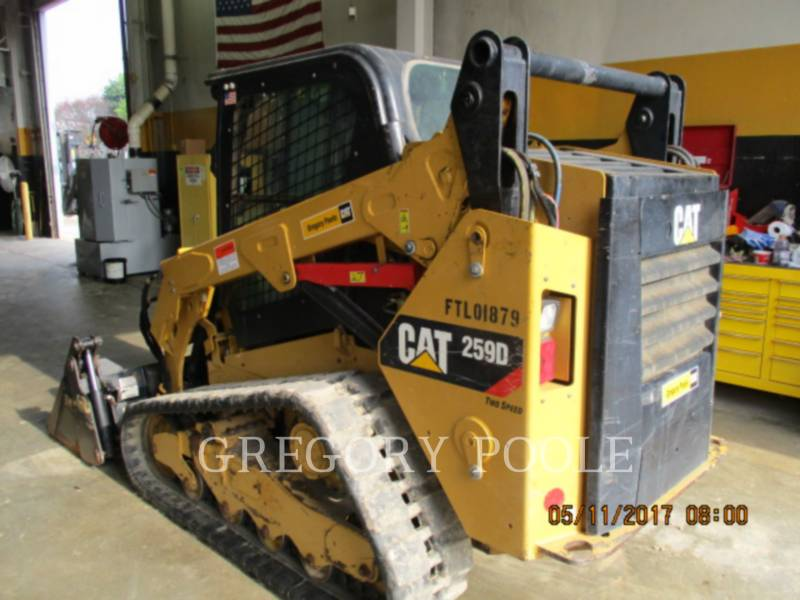CATERPILLAR CARREGADEIRAS TODO TERRENO 259D equipment  photo 4