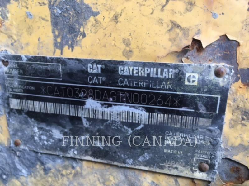 CATERPILLAR KETTEN-HYDRAULIKBAGGER 328DLCR equipment  photo 3