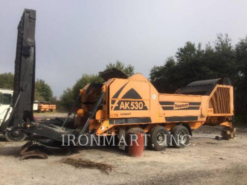 DOPPSTADT HORIZONTAL GRINDER AK530 equipment  photo 1
