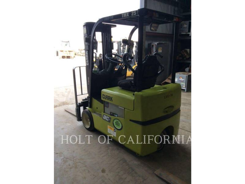 CLARK EQUIPMENT FORKLIFTS TMX25 equipment  photo 2