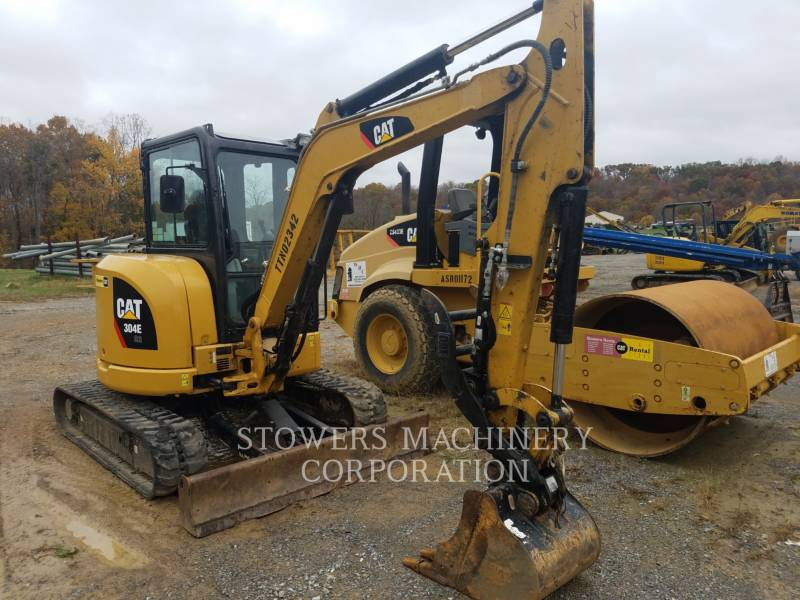 CATERPILLAR KETTEN-HYDRAULIKBAGGER 304ECR equipment  photo 3