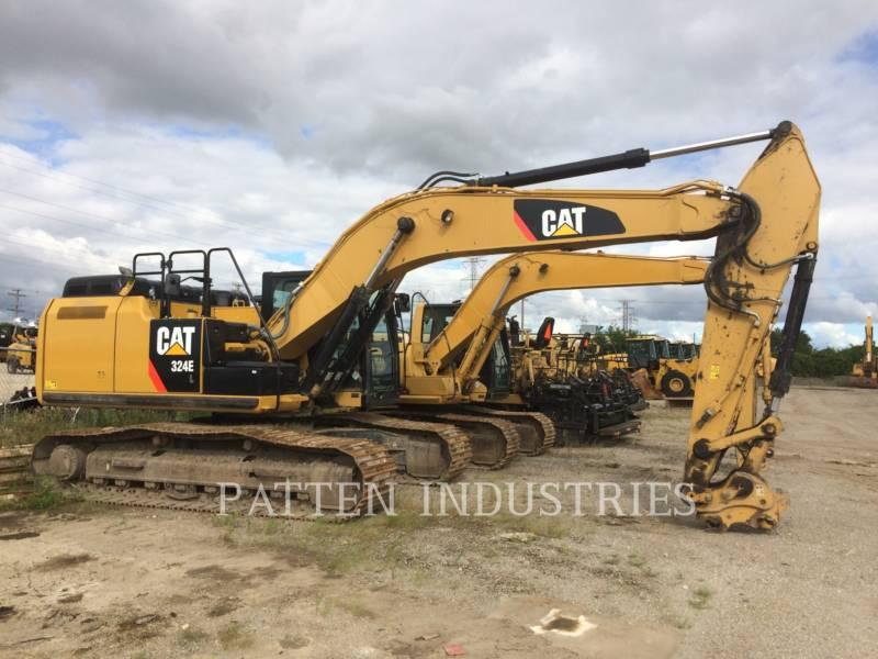 CATERPILLAR TRACK EXCAVATORS 324EL HMR equipment  photo 1