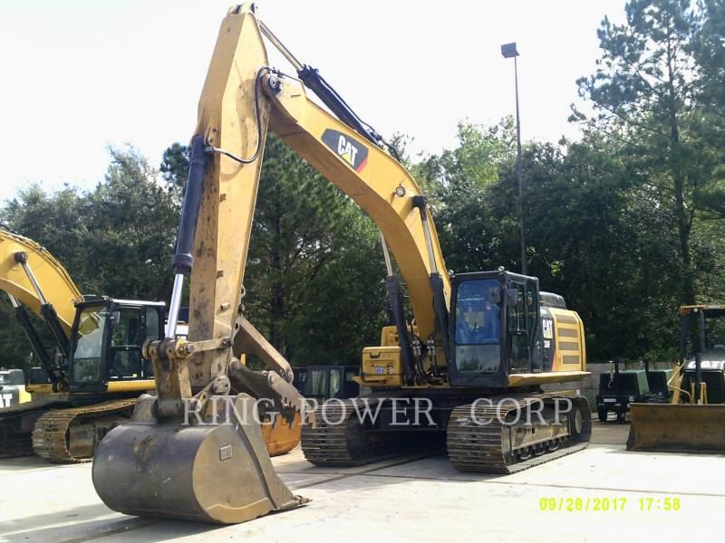 CATERPILLAR PELLES SUR CHAINES 336FLTHUMB equipment  photo 1
