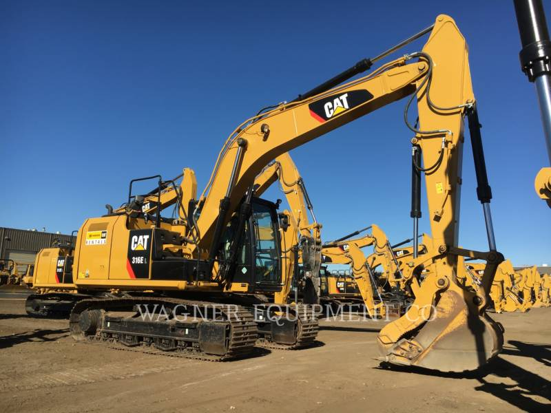 CATERPILLAR ESCAVADEIRAS 316EL THB equipment  photo 1