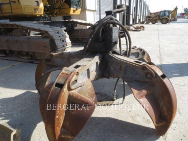 CATERPILLAR WHEEL EXCAVATORS M318D MH equipment  photo 16