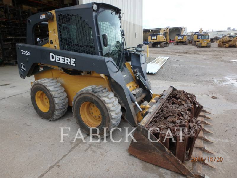DEERE & CO. CHARGEURS COMPACTS RIGIDES 326D equipment  photo 3