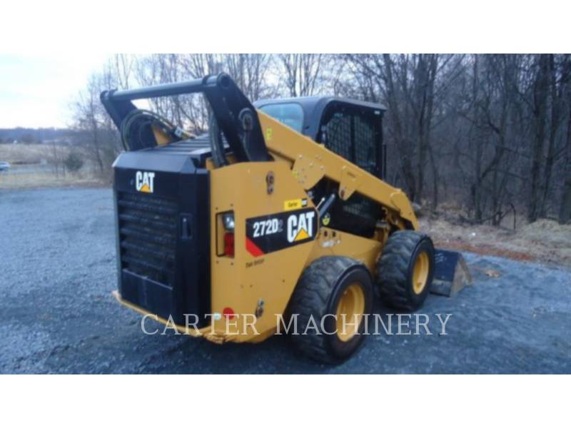 CATERPILLAR CHARGEURS COMPACTS RIGIDES 272D2 AC equipment  photo 4