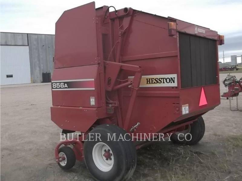 HESSTON CORP MATERIELS AGRICOLES POUR LE FOIN 856A equipment  photo 6