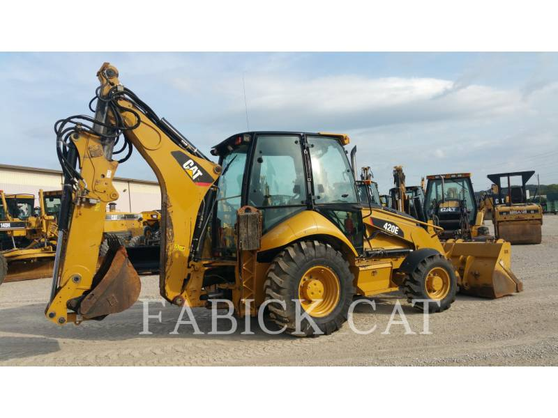 CATERPILLAR BACKHOE LOADERS 420E HT equipment  photo 2