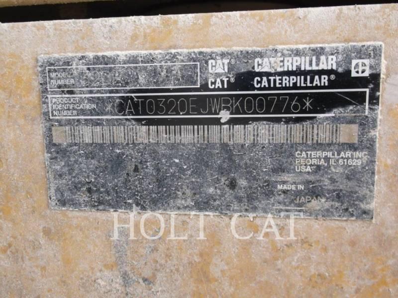 CATERPILLAR KETTEN-HYDRAULIKBAGGER 320EL equipment  photo 5