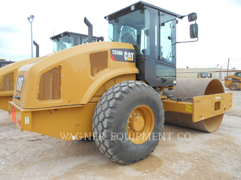 CATERPILLAR WALEC DO GRUNTU, GŁADKI CS56B equipment  photo 2