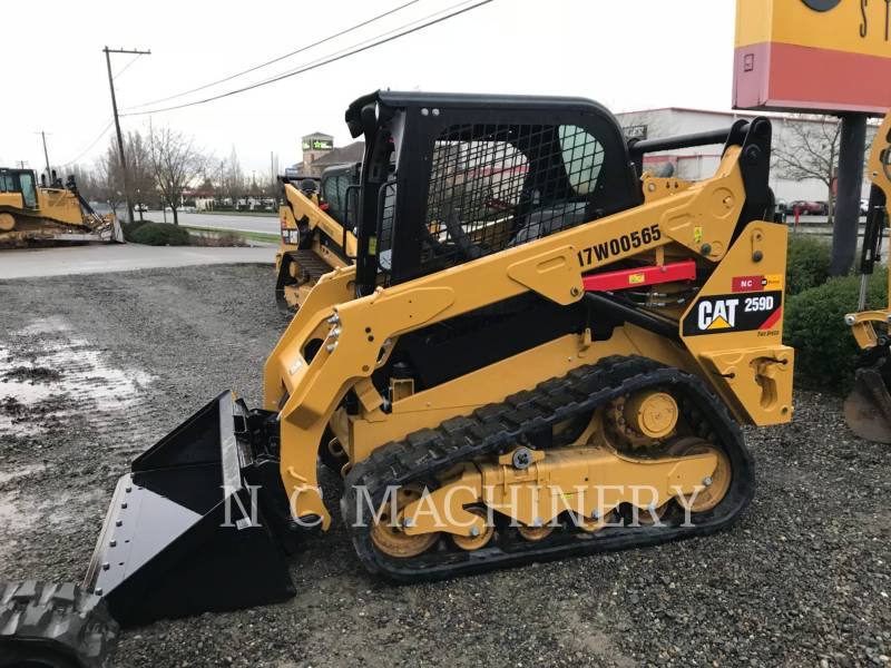 CATERPILLAR SKID STEER LOADERS 259D H2CN equipment  photo 1
