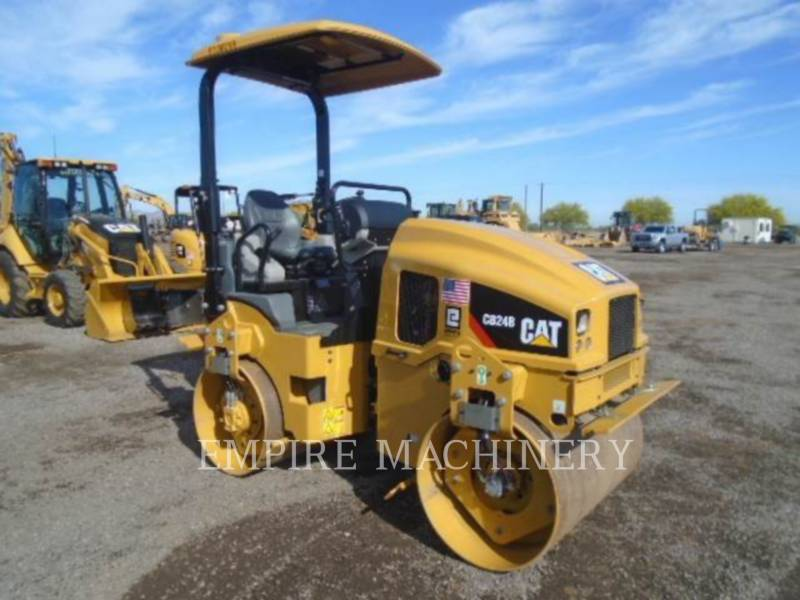 CATERPILLAR VIBRATORY DOUBLE DRUM ASPHALT CB24B equipment  photo 1