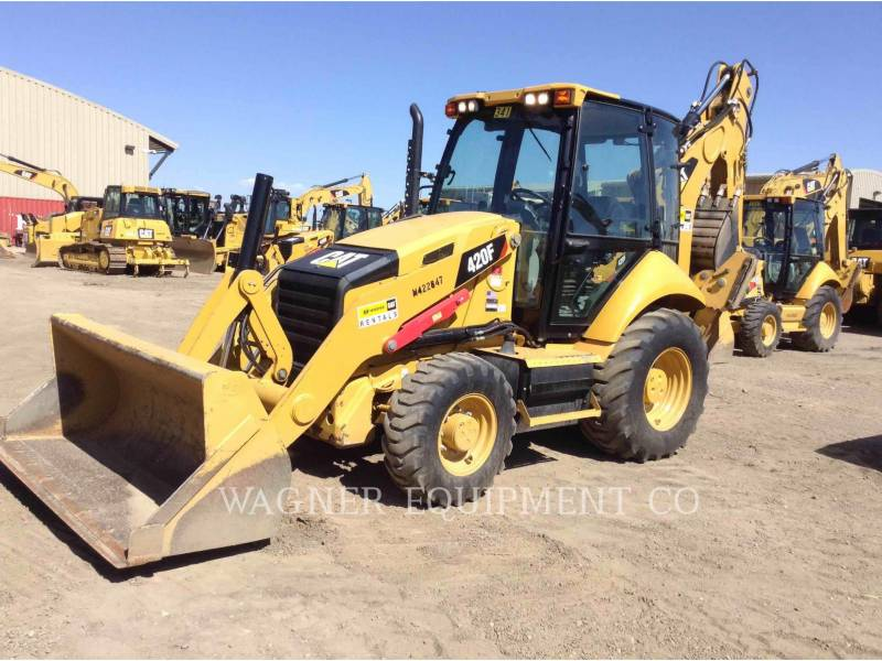 CATERPILLAR CHARGEUSES-PELLETEUSES 420F 4WD equipment  photo 1