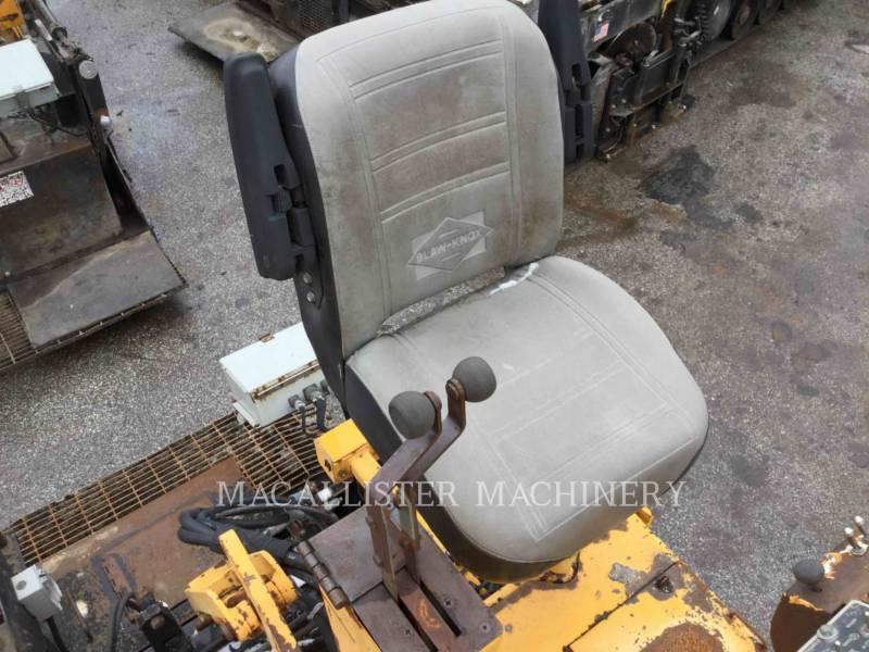 BLAW KNOX / INGERSOLL-RAND ASPHALT PAVERS PF 5510 equipment  photo 16