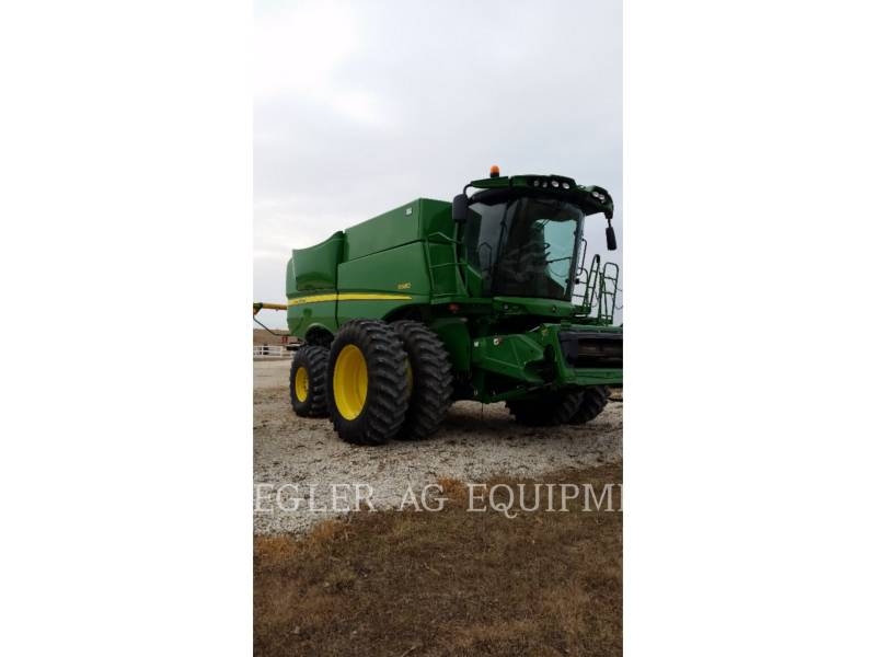 DEERE & CO. COMBINES S680 equipment  photo 3