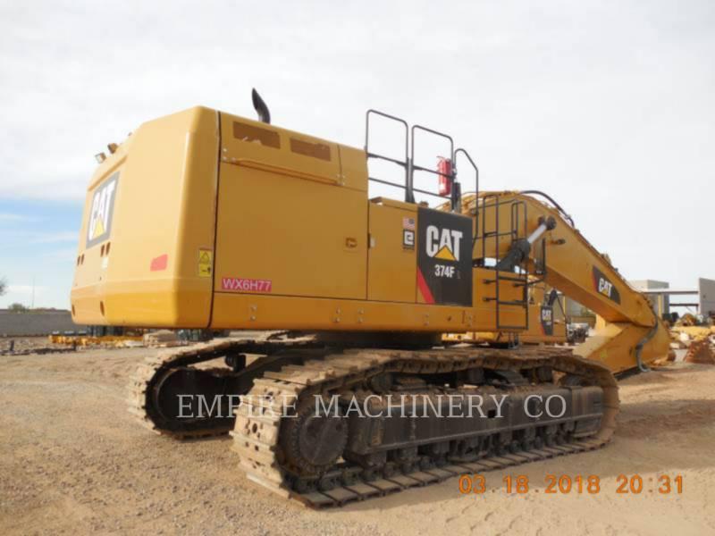 CATERPILLAR トラック油圧ショベル 374FL equipment  photo 3