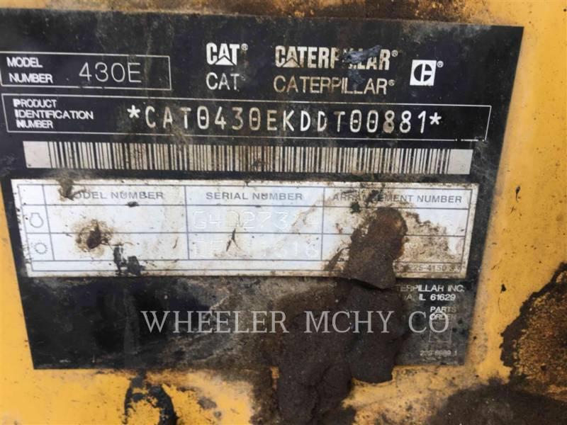 CATERPILLAR BACKHOE LOADERS 430E IT E equipment  photo 10